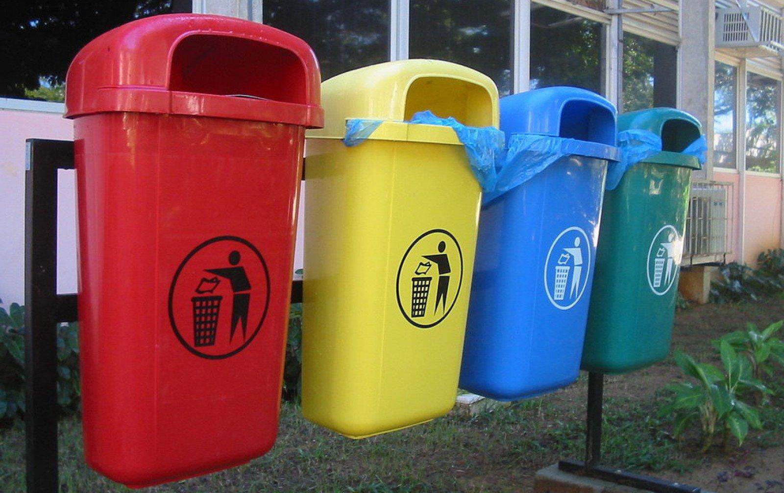 Els contenidors de recollida selectiva