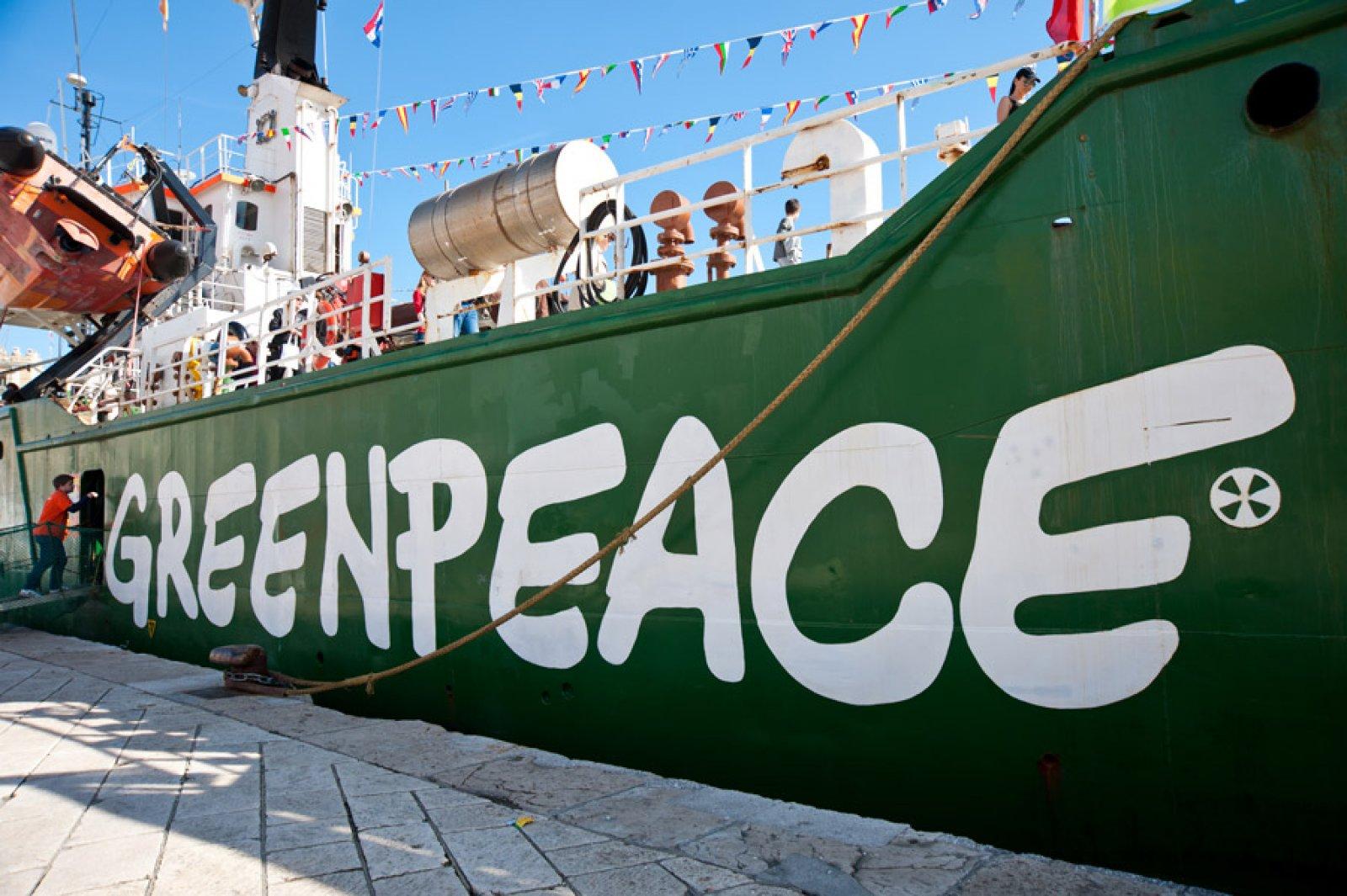 Greenpeace vaixell