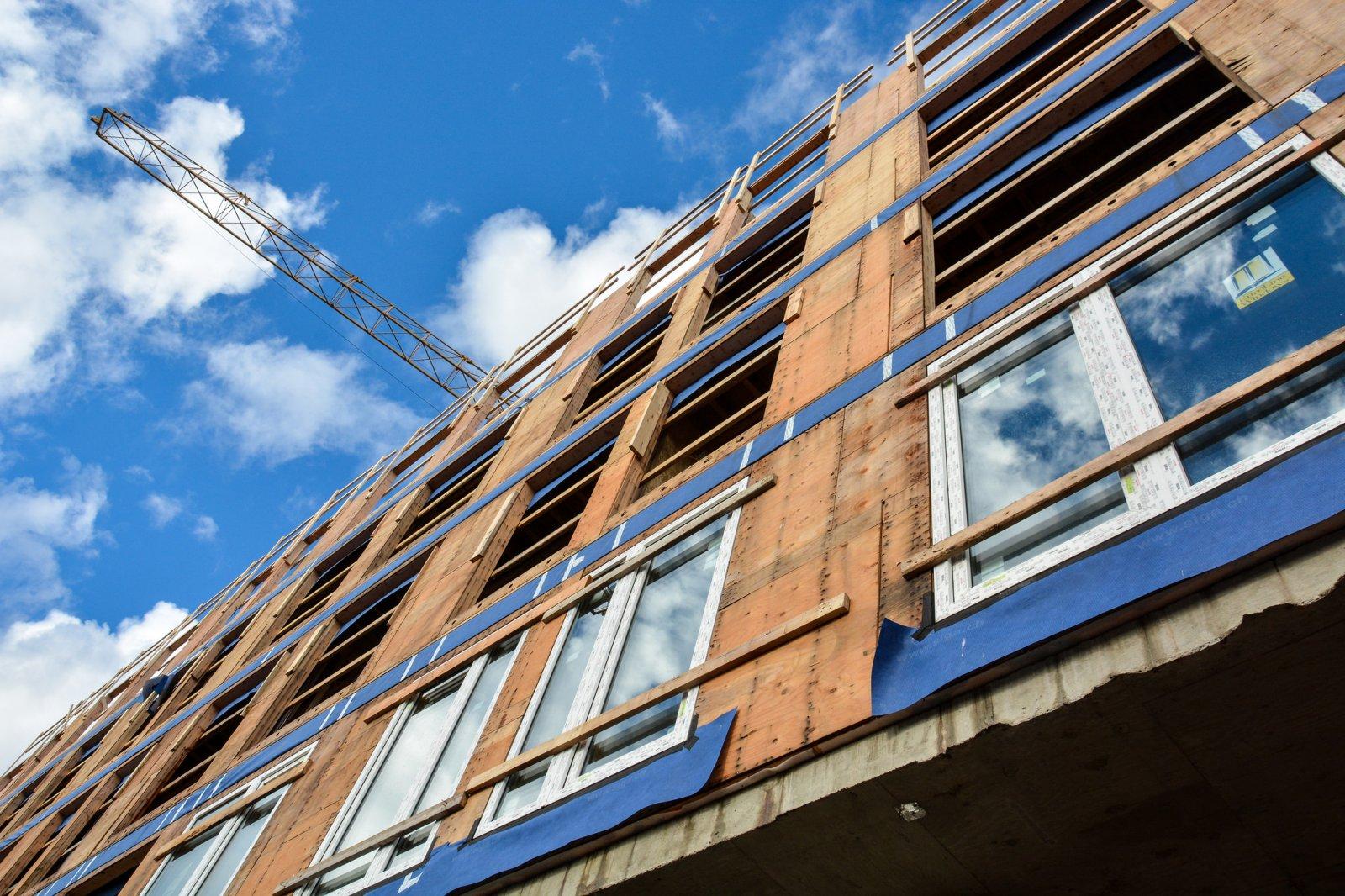 Edificis passius en construcció
