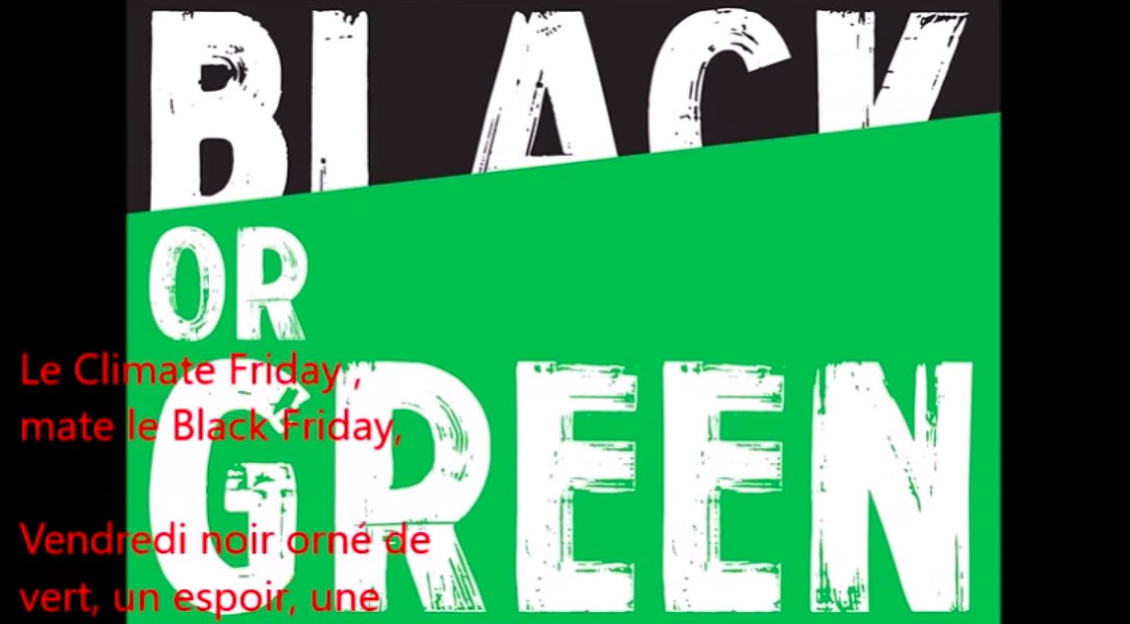 Black or Green