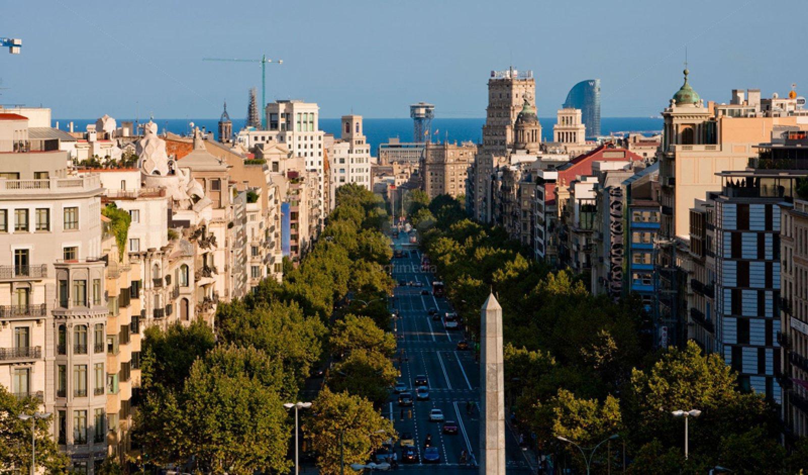 Imatge de passeig de Gràcia de Barcelona