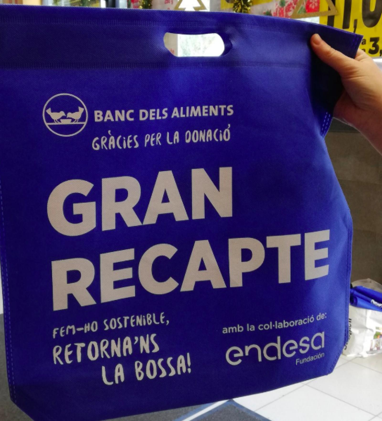 Les bosses noves del Gran Recapte 2018 que són reutilitzables