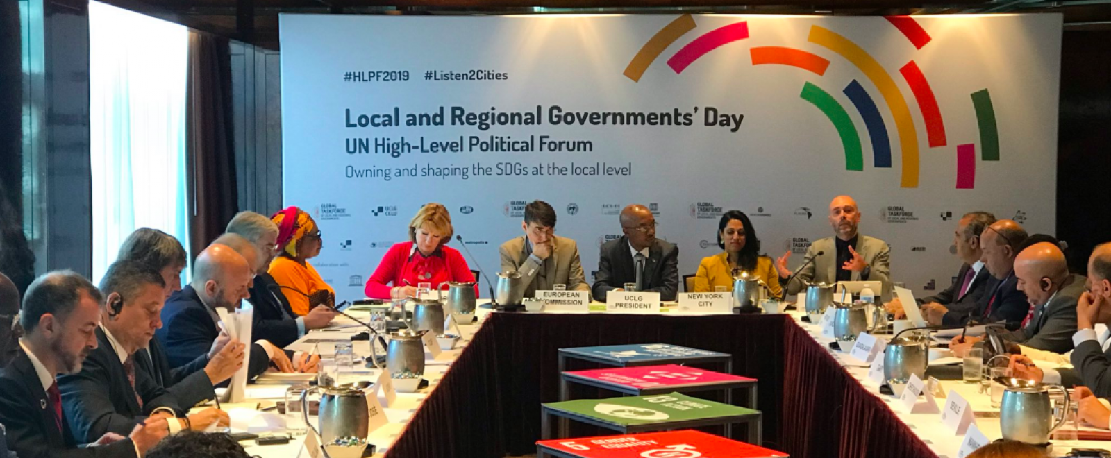 El conseller Alfred Bosch en el Local & Regional Governments Day