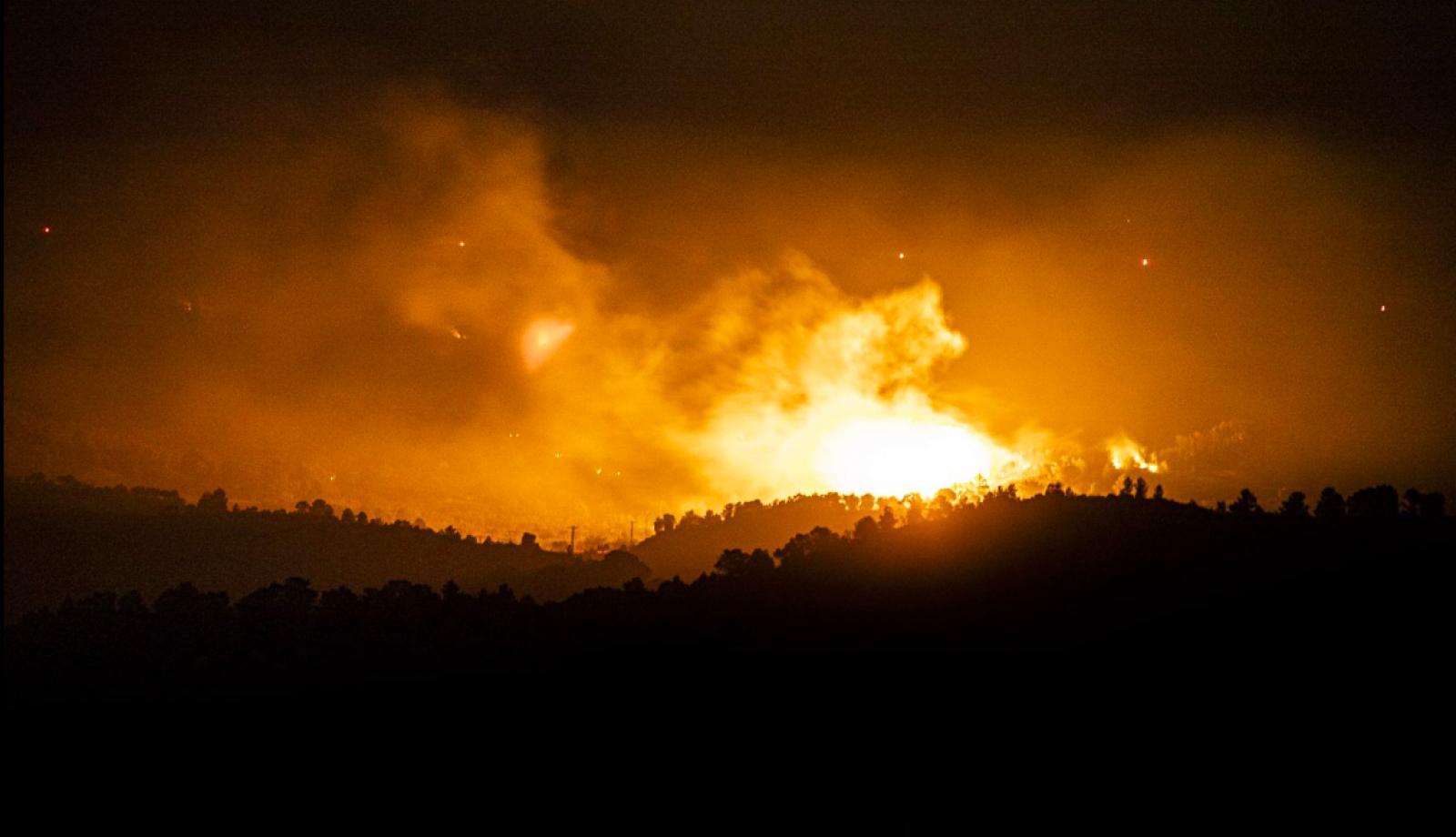 L'incendi de la Ribera d'Ebre aquesta passada nit