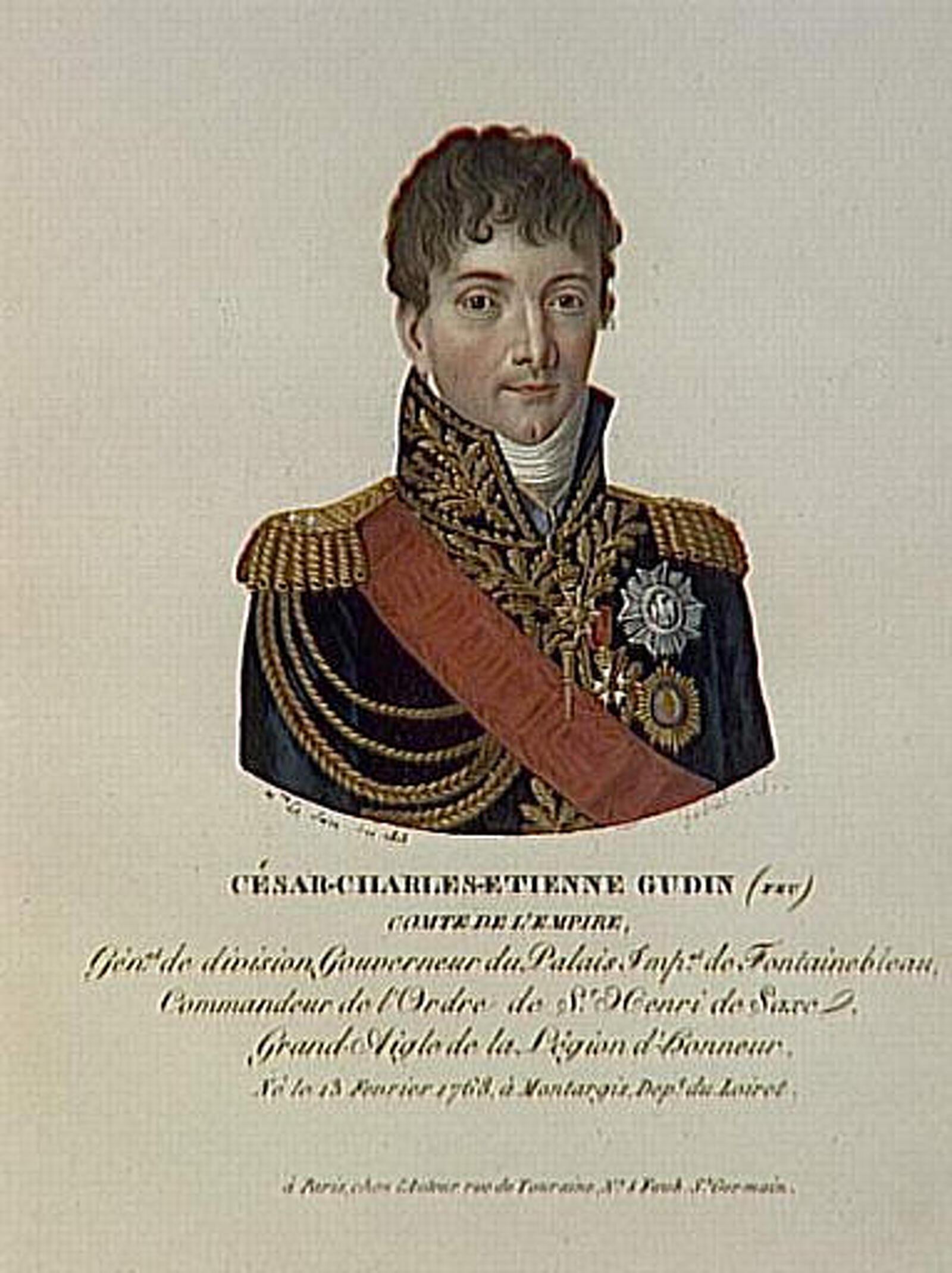 El general Charles-Etienne Gudin