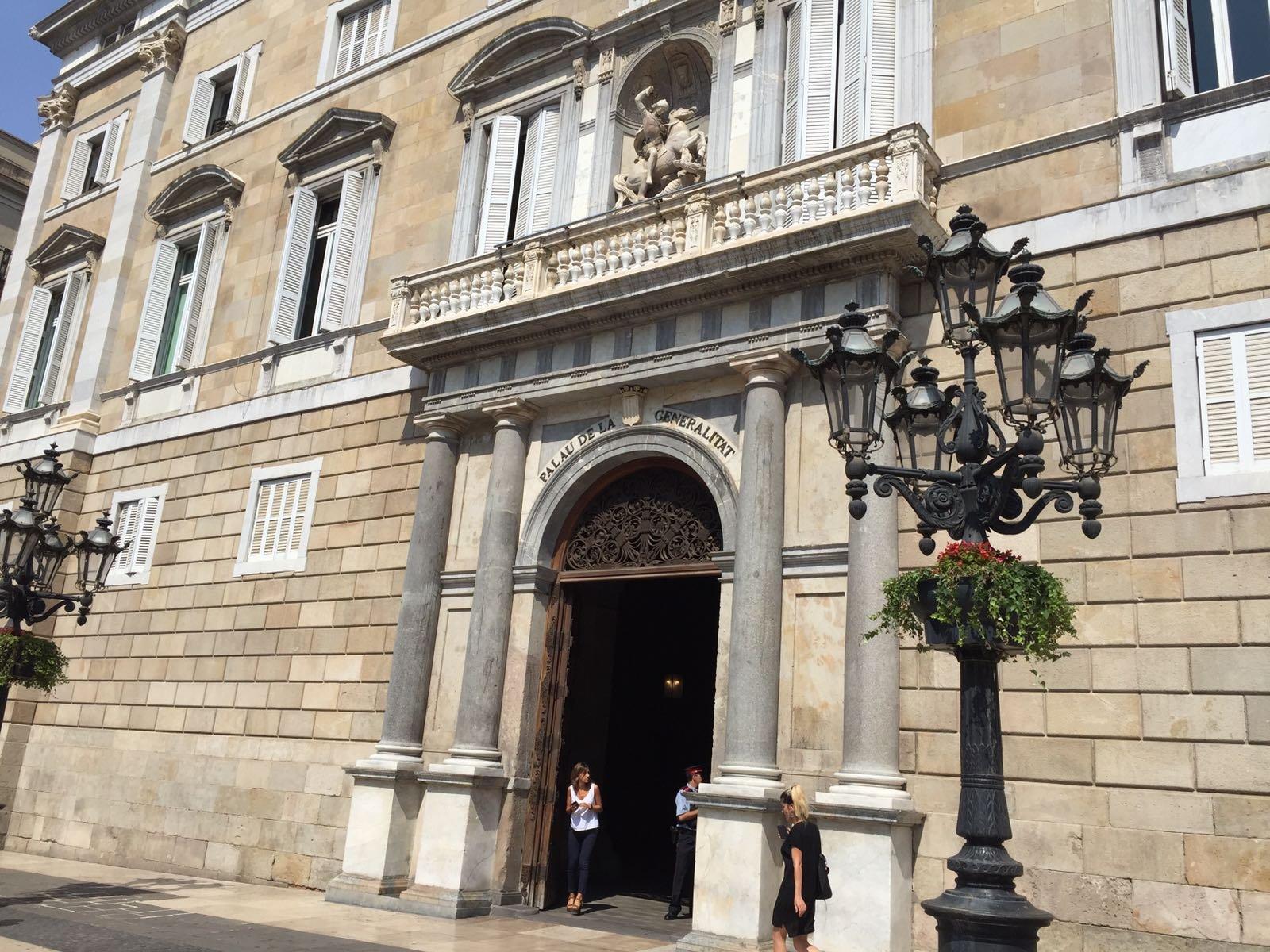 El Palau de la Generalitat