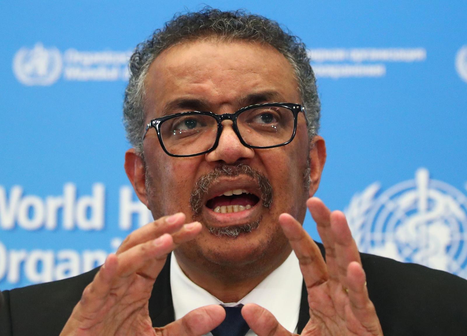 El director general de l'Organització Mundial de la Salut, l'etíop Tedros Adhanom