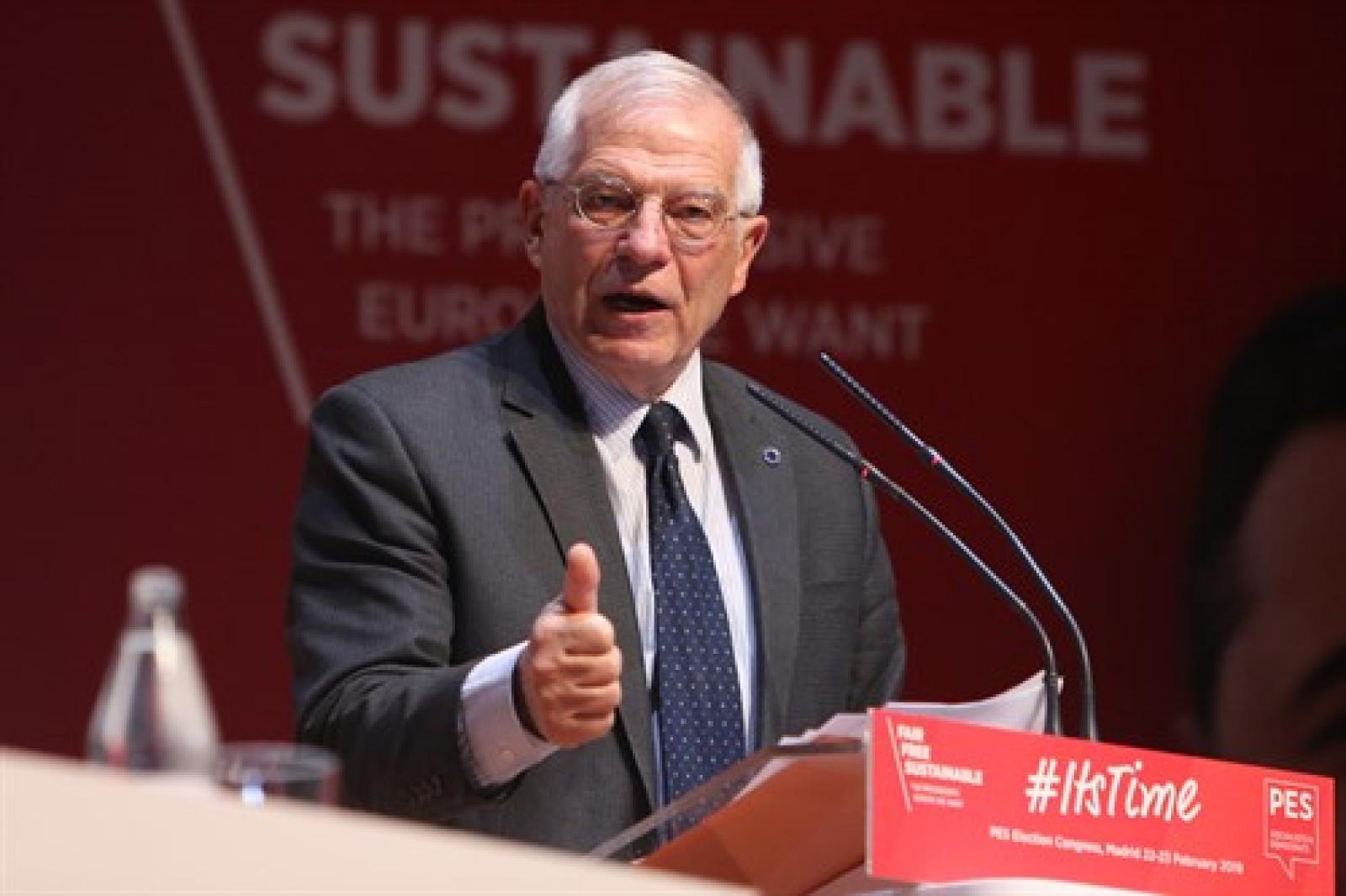 Josep Borrell sona per encapçalar el PSOE el 28-A