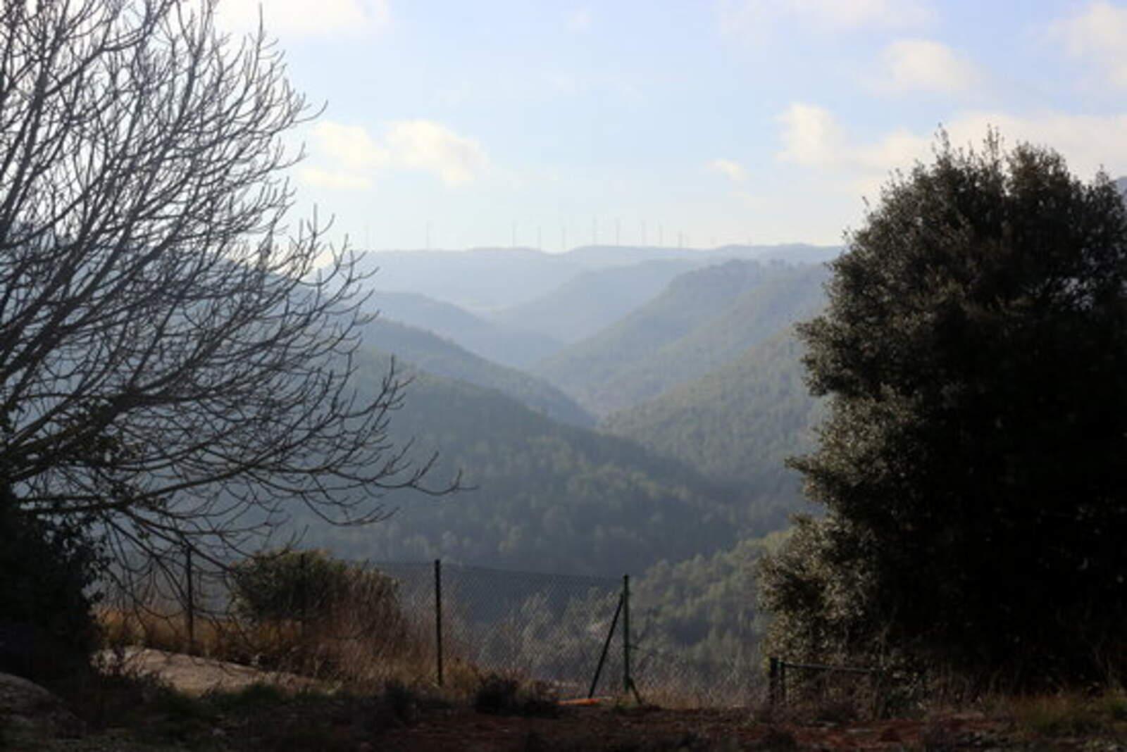 La vall on es projecten els parcs eòlics més grans del Bages