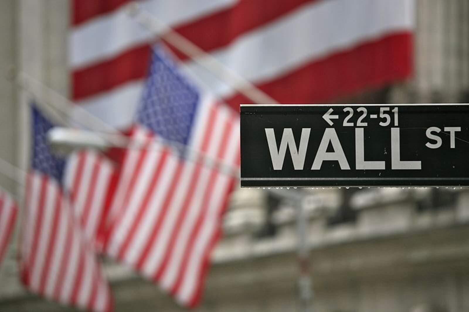 Wall Street, a Nova York, el centre financer dels Estats Units