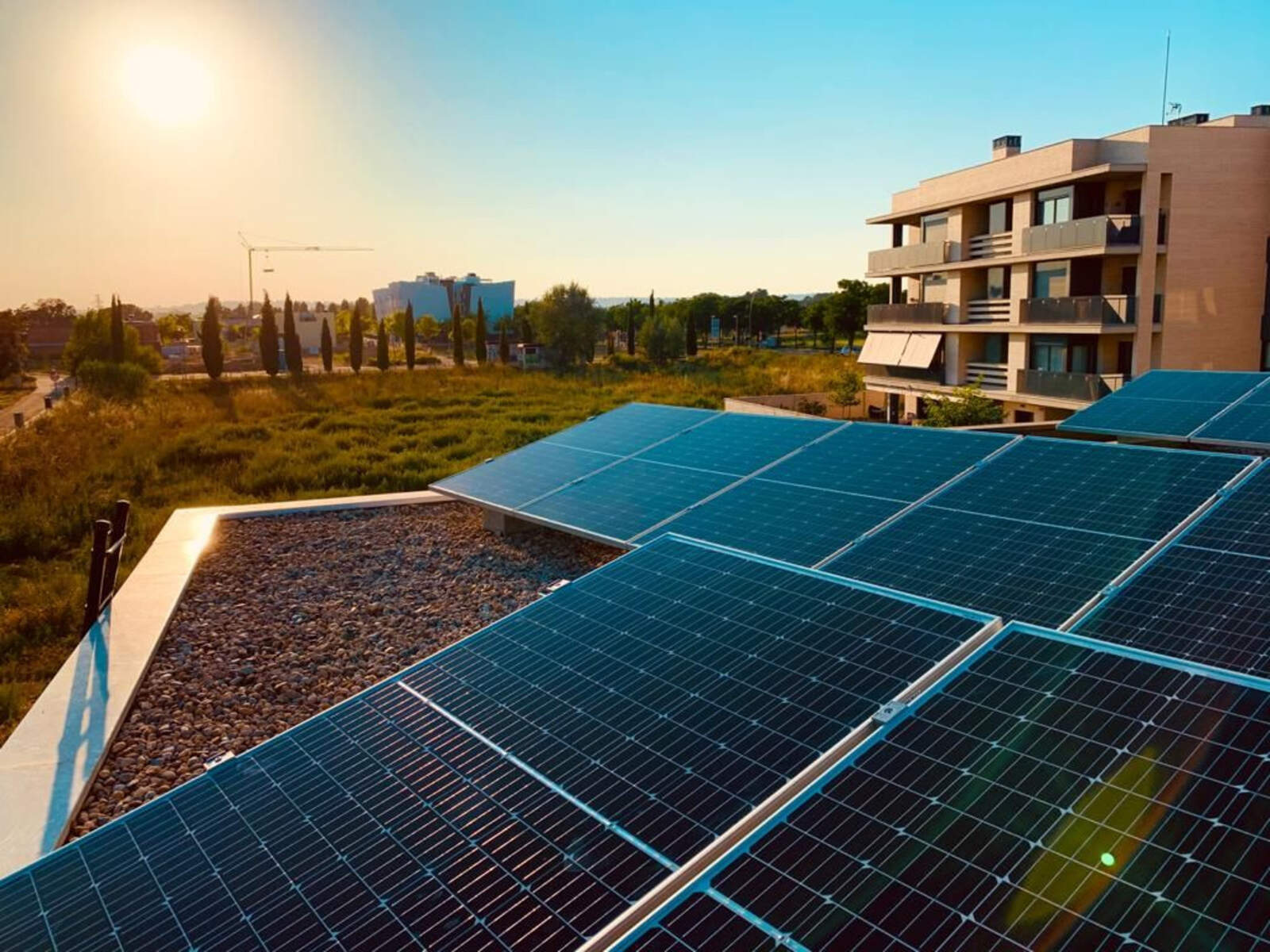 Instal·lació fotovoltaica realitzada a la ciutat de Lleida