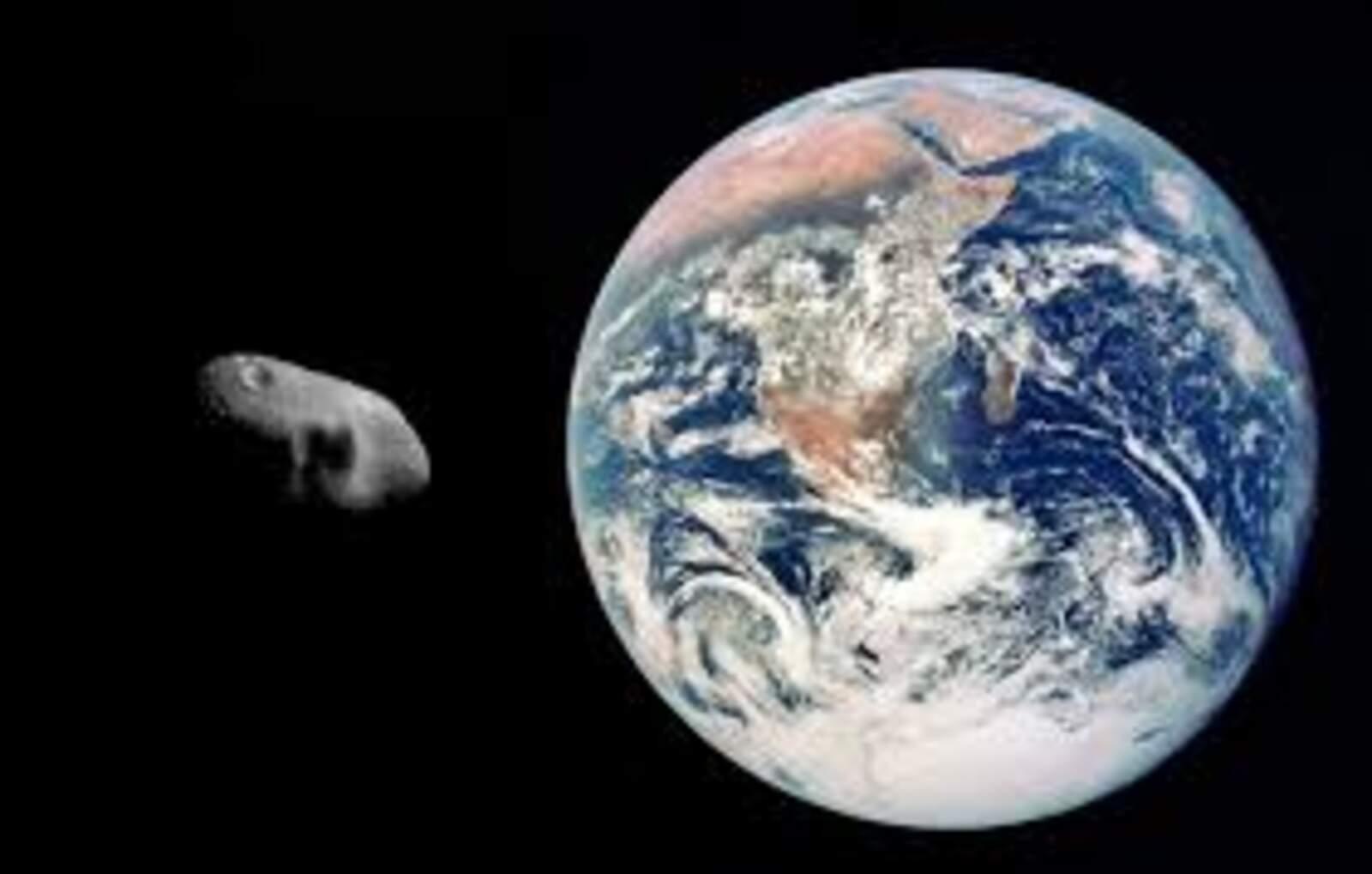 Asteroide a prop de la Terra