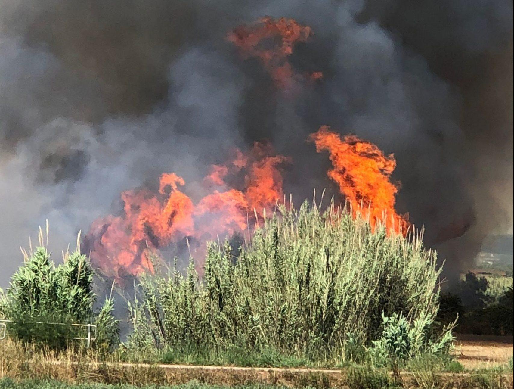 Les flames de l'incendi de Torrents | ACN