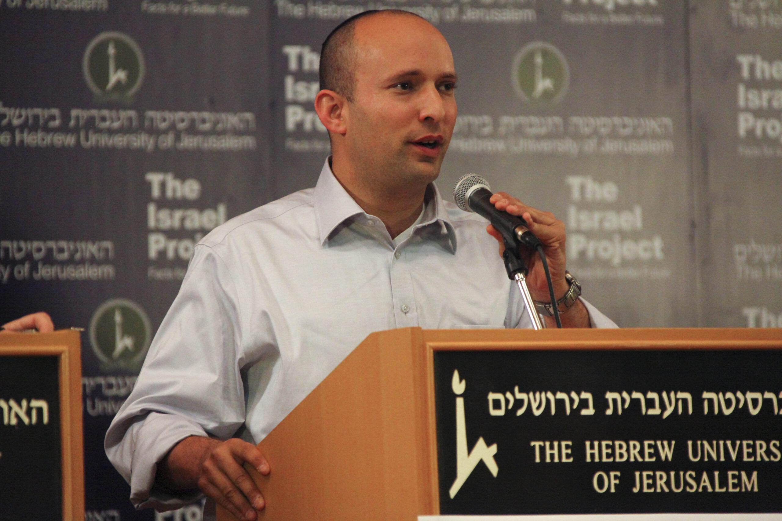 El primer ministre d'Israel, Naftali Bennett   Wikimedia Commons