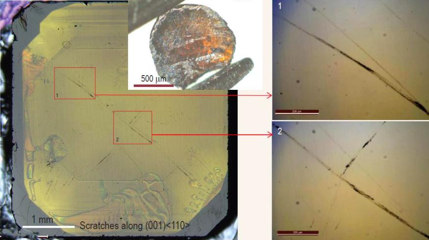 El buckminsterfullerè comprimit a altes temperatures pot ratllar fins i tot el diamant | Universitat d'Oxford
