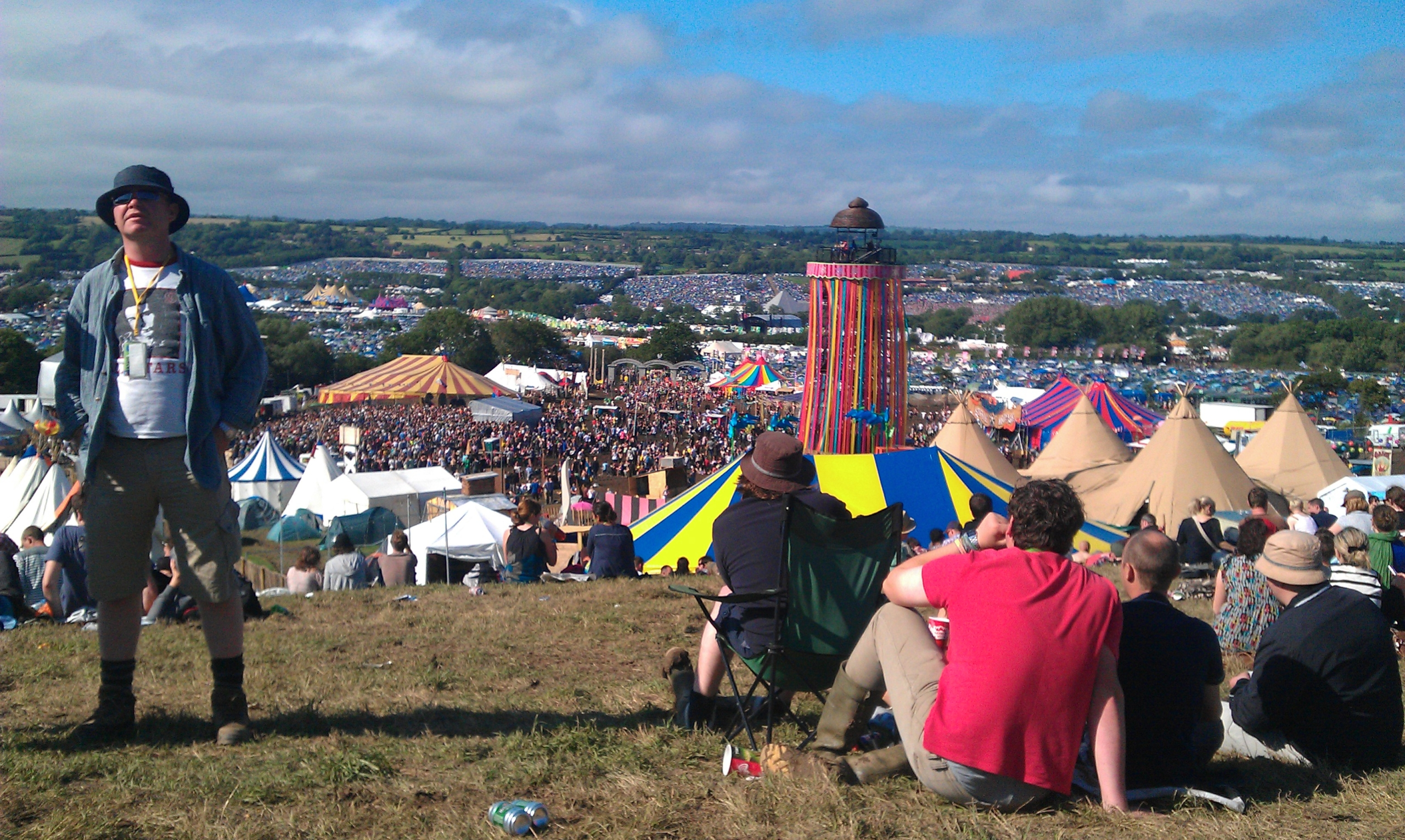 Imatge d'arxiu del festival de Glastonbury | Wikimedia Commons